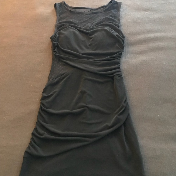 Ruby Rox Dresses & Skirts - Flirty Little Black Dress with Mesh Cutout